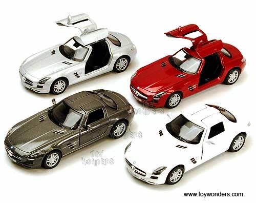 Mercedes Sls Amg Hard Top 5349d 1 36 Scale Kinsmart Whole Cast Model Toy Car