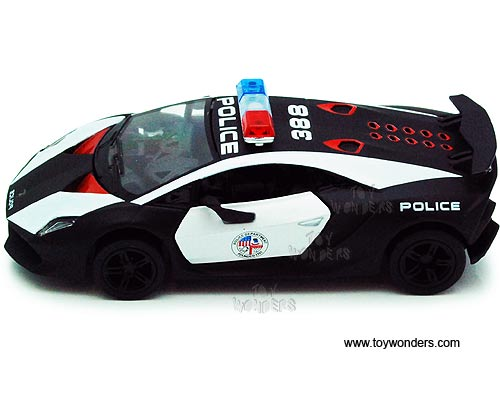 Lamborghini Sesto Elemento Police By Kinsmart 1 38 Scale Diecast