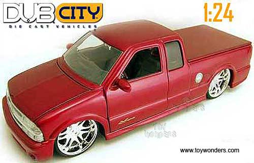 2002 Chevy S10 Xtreme Pickup By Jada Toys Dub City 1 24 Scale