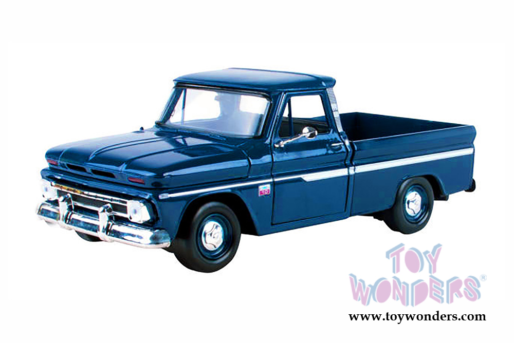 4698f581690b8 1966 Chevy C10 Fleetside Pickup Truck 73355AC MB 1 24 scale Showcasts  Collectibles wholesale diecast model car
