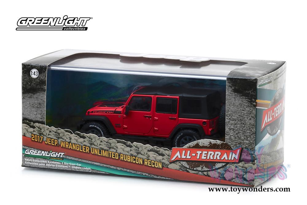 1e9cf8fd356 Greenlight - All Terrain Jeep® Wrangler Unlimited Rubicon Recon (2017, 1/43