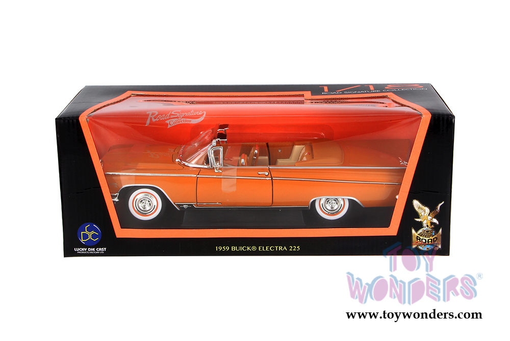 Lucky Die Cast 1:18 coppermetallic BUICK Electra 225-1959