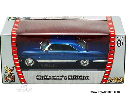 Road Signature 94250-1//43 Scale Diecast Model Car 1964 Mercury Marauder Red