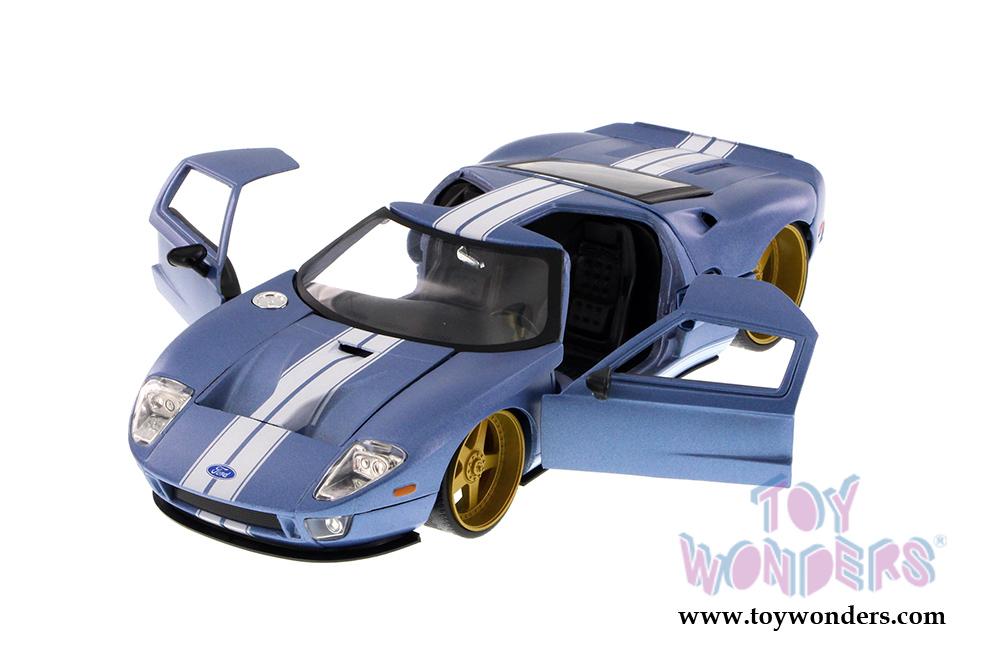 Jada Toys Big Time Kustoms Ford Gt Hard Top Ab   Scale Wholesale Cast Model Car