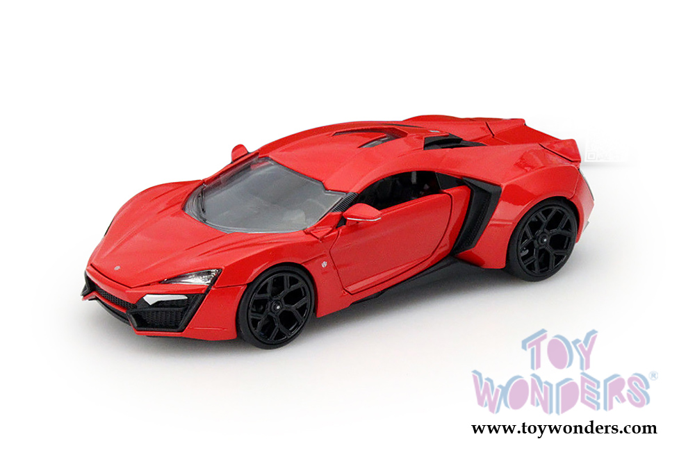 W Motors Lykan Hypersport Coupe Weiss The Fast and the Furious 7 1//24 Jada Model