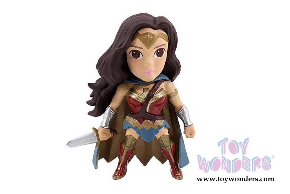 "Movie version 4"" METALS Batman v Superman Wonder Woman"
