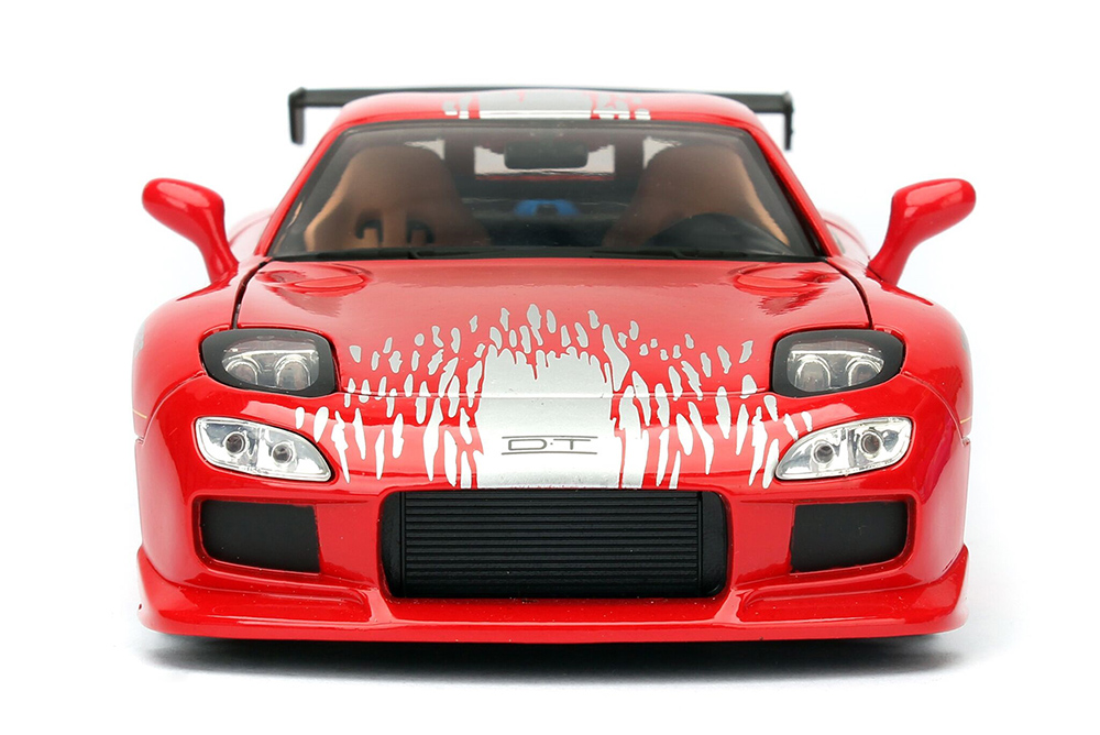"""jada toys fast & furious - dom's mazda rx-7 f8 """"the fate of the"""