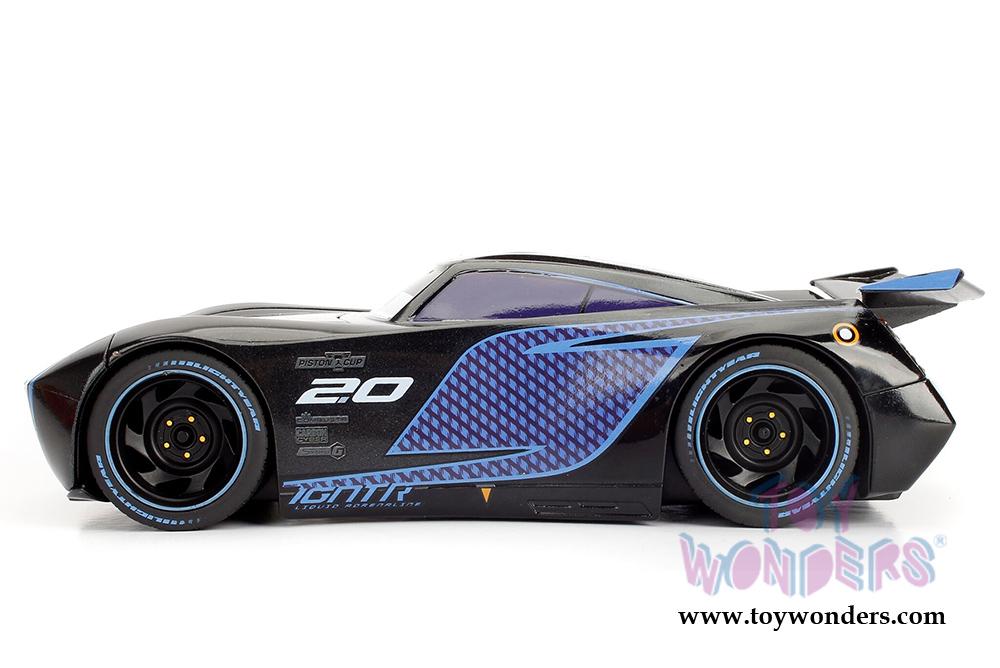 Jada Toys Disney Pixar Cars 3 Jackson Storm 1 24 Diecast Model Toy Metallic Black 98361