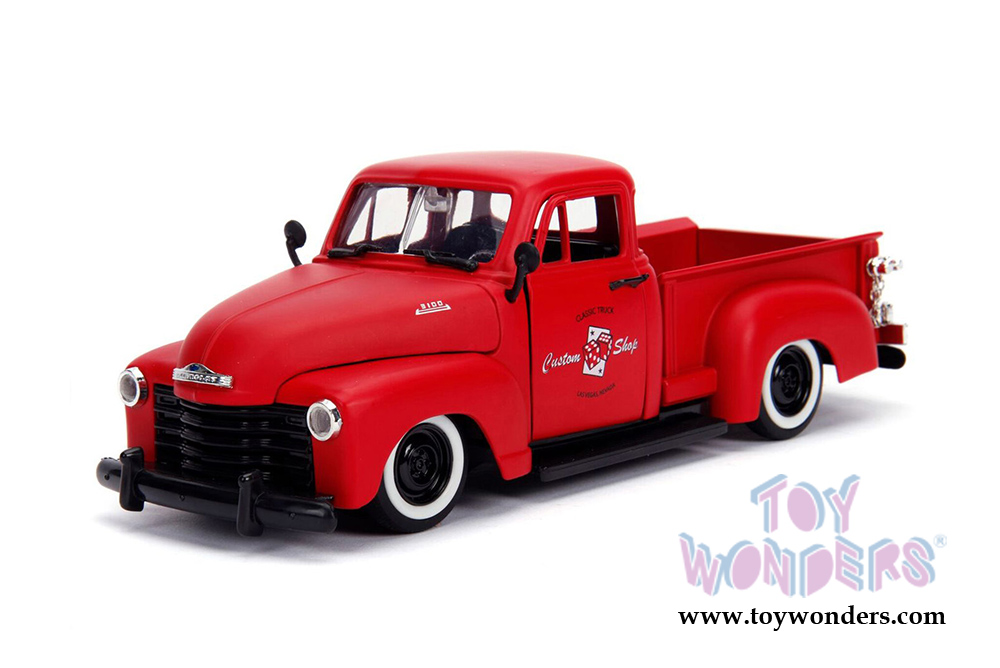 1//24 Scale White 1953 Chevy Pickup Truck Just Truck Series