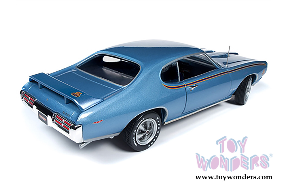 Auto World - American Muscle   Pontiac® GTO™ Muscle Car & Corvette  Nationals (MCACN) 10th Anniversary (1969, 1/18 scale diecast model car,  Warwick