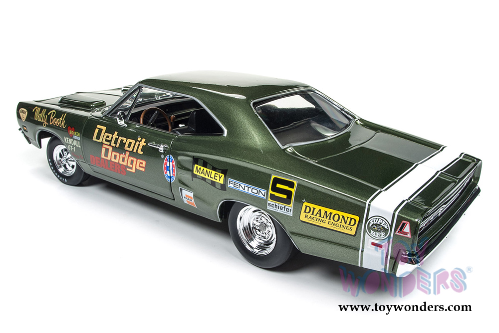 1969 Dodge Coronet Super Bee Wally Booth 1:18 Auto World Ertl AW234