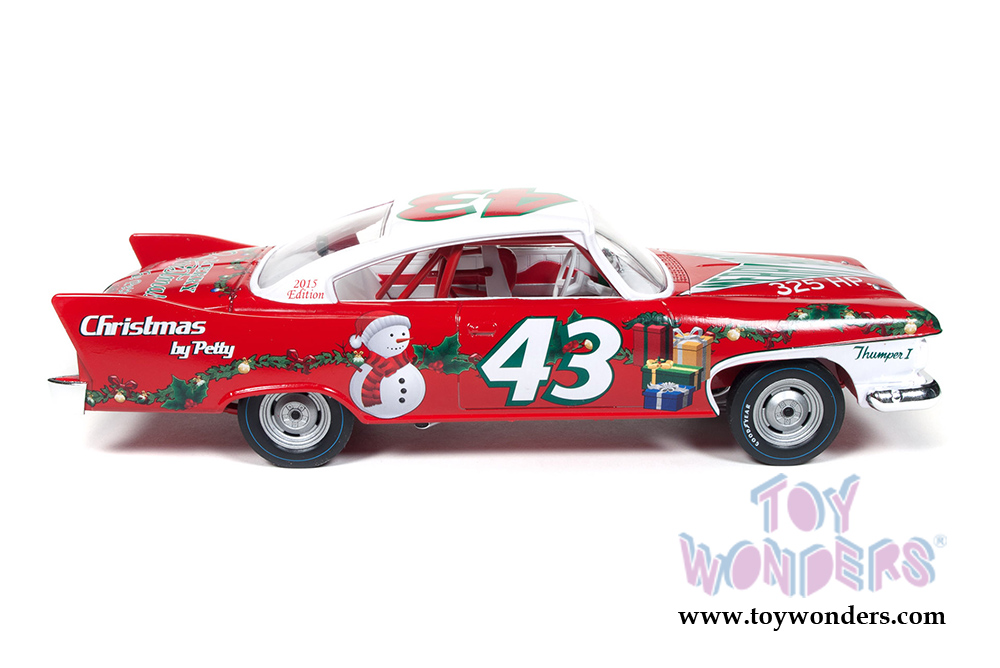 1:24 Ertl//Auto World Plymouth Fury Christmas Edition 1960 red//white