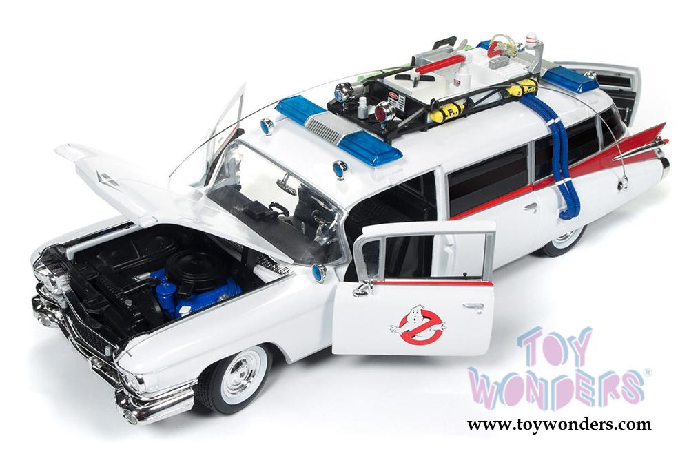 1959 Cadillac Ambulance Ecto 1 By Auto World Silver Screen Machines