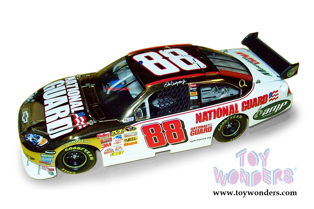 Action Racing Collectables - NASCAR Dale Earnhardt #88 National Guard Chevy  Impala SS (2008, 1/24 scale diecast model car, Gold Chrome) C4493