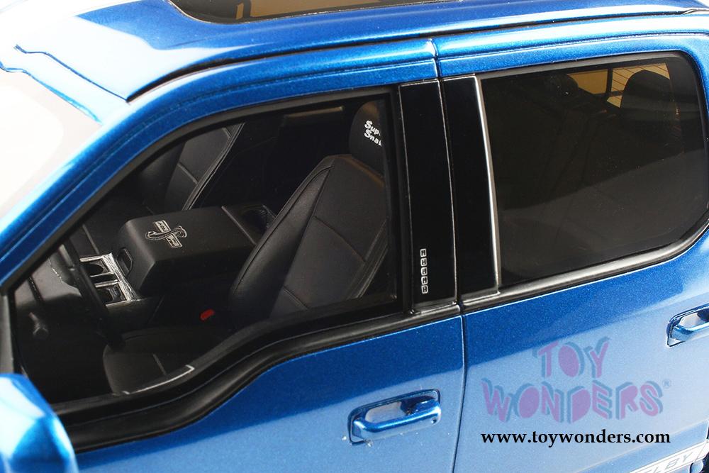 FORD SHELBY F-150 SUPER SNAKE PICKUP TRUCK BLUE 1//18 MODEL CAR GT SPIRIT GT262