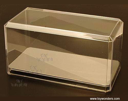 1/24 Scale Diecast Model Car Acrylic Display Cases (with mirrored base)  PP094CD/12