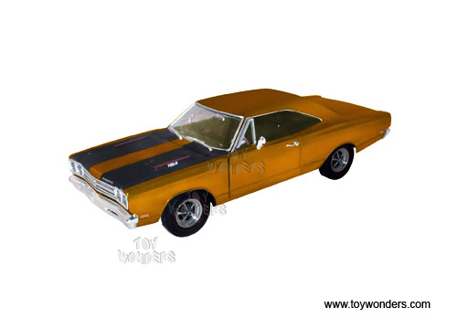 1969 plymouth road runner hard top by auto world ertl elite 1 18 scale diecast model car wholesale amm907bn auto world ertl elite plymouth road runner hard top 1969 1 18 scale diecast model car bronze amm907